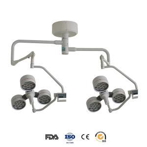 FDA (YD02-LED3+4)が付いている二重ヘッド天井の外科ランプ