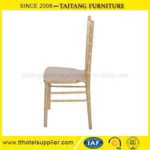 Usa silla Chiavari banquetes Silla de madera para el uso de banquetes del hotel