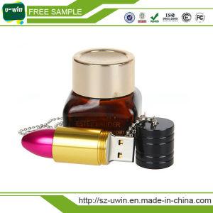 金属の口紅USBのフラッシュ・メモリ、USBのフラッシュディスク16GB