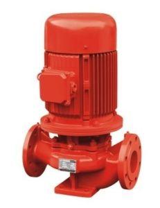 Xbd verticale de lutte contre les incendies de la pompe de gavage