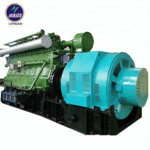 Gruppo elettrogeno industriale di energia elettrica del gas di scarico