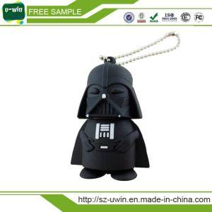 スターウォーズのギフトのための黒い戦闘機PVC USBのフラッシュ駆動機構