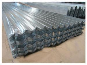 Strato ondulato galvanizzato del tetto della lamiera di acciaio per materiale da costruzione