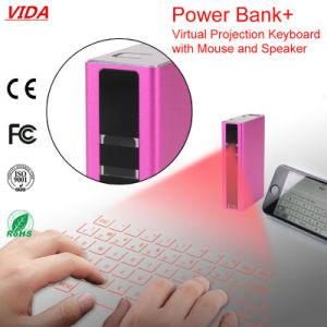 Proyector virtual del teclado de la proyección del laser Portable sin hilos del teclado del mini para la PC de la tablilla