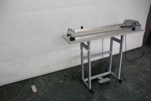 De eenvoudige Machine van het Pedaal van de Voet van het Type Plastic Verzegelende met Knipsel