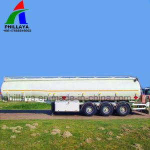 Del petrolio greggio di autocisterna del camion serbatoio di combustibile liquido del rimorchio semi