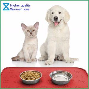 De Fabriek die van China het Voeden van het Huisdier van het Silicone van 100% Matten de Van uitstekende kwaliteit voor de Katten van de Hond produceren