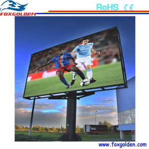 P10 Outdoor pleine couleur RVB haute luminosité affichage LED du stade