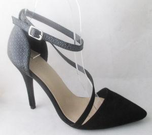 Haut talon Point Toe Lady Shoe