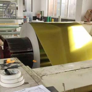 Best-seller T5 tempérer le fer blanc laqué or doré