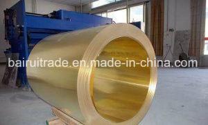 1*2m de la banda de cobre puro de chapa/placa tira delgada C26800 Precio de la cinta de lámina de latón China