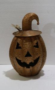 De met de hand gemaakte Decoratie van de Vakantie van Halloween van de Pompoen van het Metaal