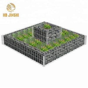 Venda a quente Alemanha Jardim de malha de arame soldado de Decoração de parede gabião