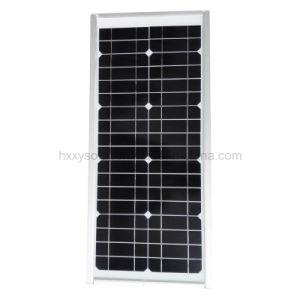 12V de alumínio para exterior à prova de IP65 LED Solar Luz Rua 15W