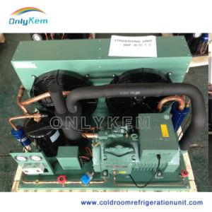 Unidade de condensação de refrigeração com Compressor Bitzer na sala fria