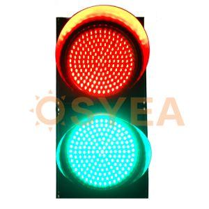 Indicatore luminoso infiammante alimentato solare del segnale stradale del temporizzatore LED di Osyea Ryg