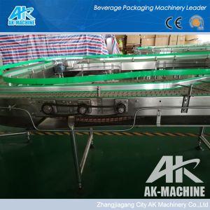 Trasportatore di plastica del nastro trasportatore che trasporta il rullo del trasportatore del sistema con il sistema di lubrificazione