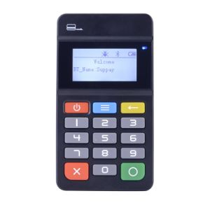 Mobile Bluetooth Pinpad Lecteur de carte PCI avec EMV MP45