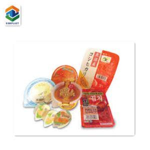 Cor Impressa Embalagens alimentares Pack o rolo de filme plástico, design de embalagem de alimentos congelados