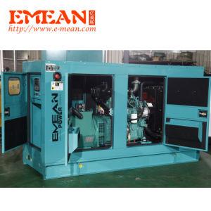 AC Type het In drie stadia van Output en Diesel van de Consumptie van de Brandstof van de Frequentie 50Hz/60Hz Lage Generator