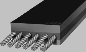 Стальные шнур St St1600 резиновые ленты транспортера