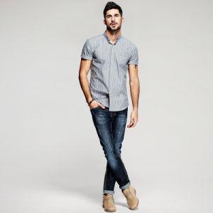 5f0efdd0f89da Dernières conceptions de chemise ouvert pour les hommes chemisier à manches  courtes Tee-shirts
