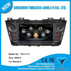 Sistema Android aluguer de DVD para Mazda 5 2011 com GPS Caixa de TV digital DVR iPod rádio BT 3G/WiFi (TID-C117)
