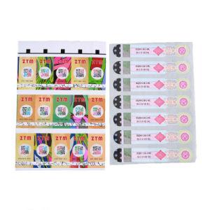 Farbenreicher Drucken-Barcode-Aufkleber für Anti-Fälschenmarken-Schutz