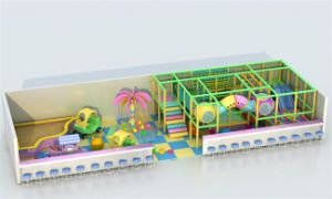 Équipement multifonctionnel d'intérieur de terrain pour enfants pour les supermarchés (ST1404-11)