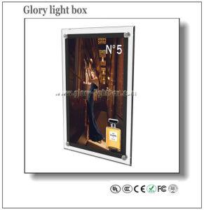 Casella chiara sottile eccellente acrilica del cristallo LED