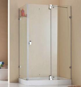 長方形のFramelessデザインシャワー機構のシャワーのキュービクル