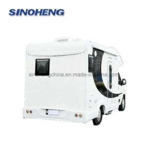 Dongfeng 4X2 Miniteardrop-Wohnwagen-Schlussteil für Verkauf