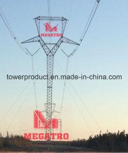 """Van Megatro 500kv de """"Delta"""" Structuur Guyed (mgp-GDS500)"""