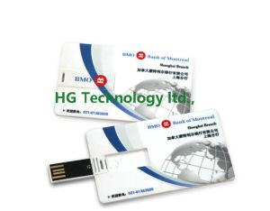 方法Waterproof Card USB Flash Disk OEM ColorおよびShape (HBU-118)