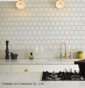4  X4  Tegel van de Muur van 10X10cm de Witte Verglaasde Ceramische in het Behandelen van de Muur van Pakistan Baksteen, Tegel & Toebehoren