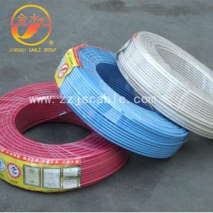 Construir o fio isolado de PVC de transmissão de electricidade