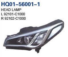 A Sonata 2014-2017 (LED Faróis1000/92101 92102-C-C1000)