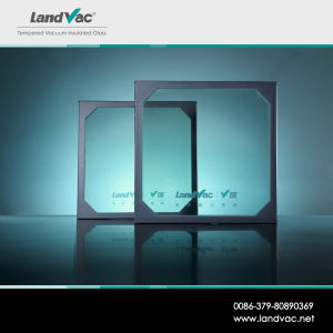 Landvacの新しいデザイン低いU値はSolar Energy家のための真空によって絶縁されたガラスを和らげた