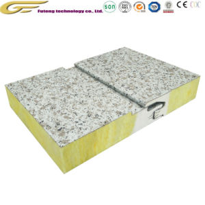 Звукоизоляция строительные материалы полиуретановые кромки минеральной ваты Сэндвич панели