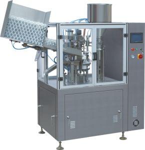 Pegar Metal Plástico Tubo de crema de máquina de llenado y sellado