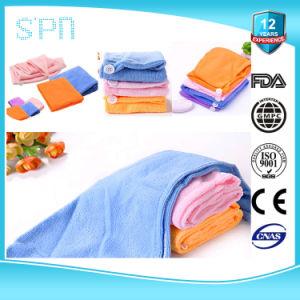 Polyester 20% van 80% de Handdoek van Microfiber van het Polyamide met Afgedrukt Embleem
