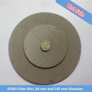 Ss304, 304L, 316, disco del filtro 316L, disco dello schermo dell'espulsore