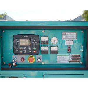 Tipo silenzioso diesel Laidong del motore cinese Km385bd Genset di Keypower 10kVA con il baldacchino di Denyo