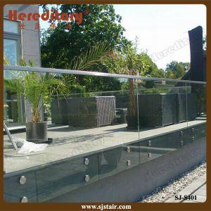 De Balustrade van het Traliewerk van het Glas van Frameless van het Kanaal van U van het aluminium
