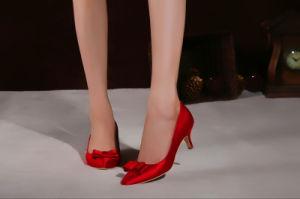 Pop Moda chicas zapatos de tacón alto vestido de novia