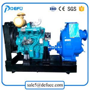 4 pouces de l'autonomie entraînée par le moteur diesel Deutz d'amorçage de la pompe à eau
