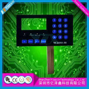 印刷の電気炊事道具のための付着力の防水カスタム膜スイッチ