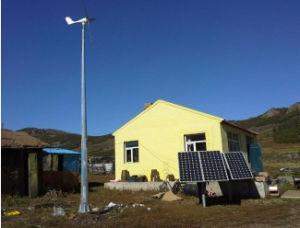 Petit générateur de turbine horizontal du vent 600W pour la maison