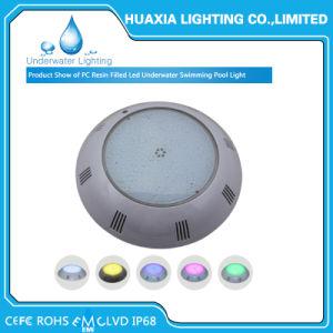 Alto indicatore luminoso subacqueo incluso fissato al muro della piscina di lumen 12V LED