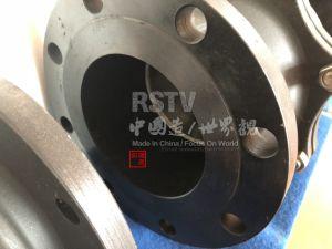 Il acciaio al carbonio Wcb 2PC ha flangiato valvola a sfera